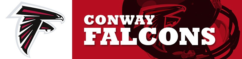 Conway Falcons Youth Football banner