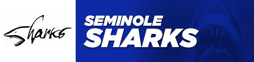 Seminole Sharks Logo banner