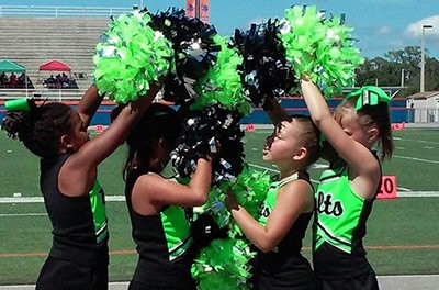 Image of East Orange Thunder Cheer