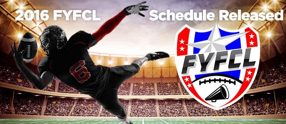 2016 FYFCL Schedule Released