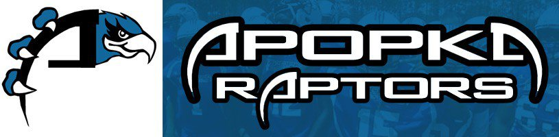 Apopka Raptors Youth Football banner