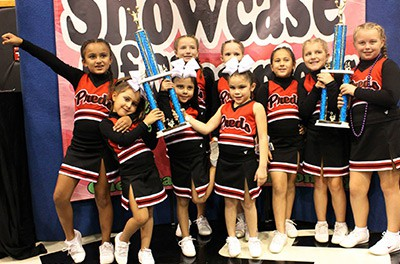 Image of AAU Youth Cheerleader | East Orlando Junior Predators