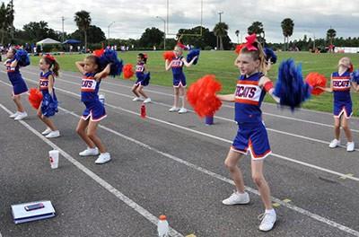 West Orange Bobcats Cheerleading