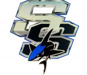 New Seminole Sharks logo on white